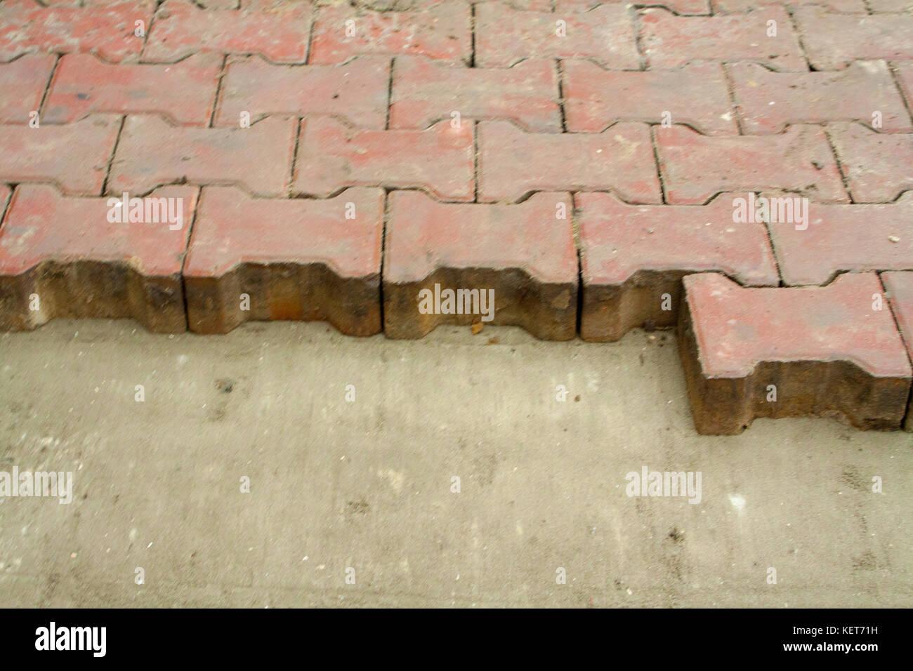 Farbige Betonplatte Mit Einer Schönen Hochwertige Textur Nahaufnahme - Farbige betonplatten