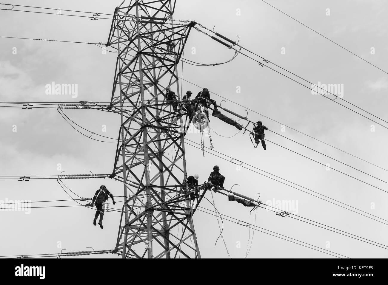 Electricians Stockfotos & Electricians Bilder - Alamy