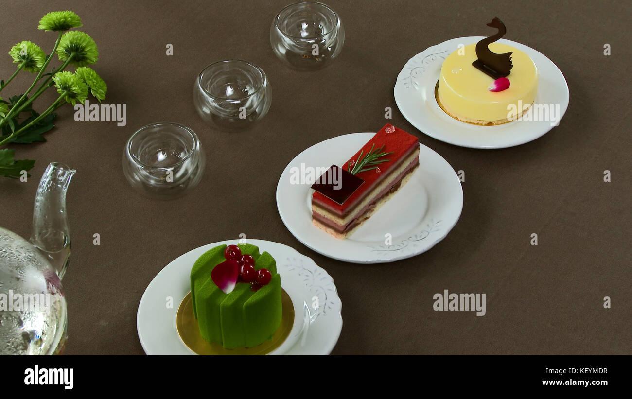 apple tea cake stockfotos apple tea cake bilder seite 7 alamy. Black Bedroom Furniture Sets. Home Design Ideas