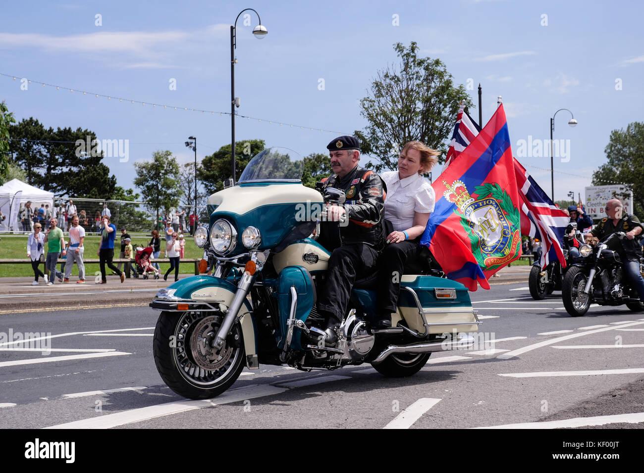 Bild von nationalen Streitkräften Tag, cleethorpes 2016 Stockbild