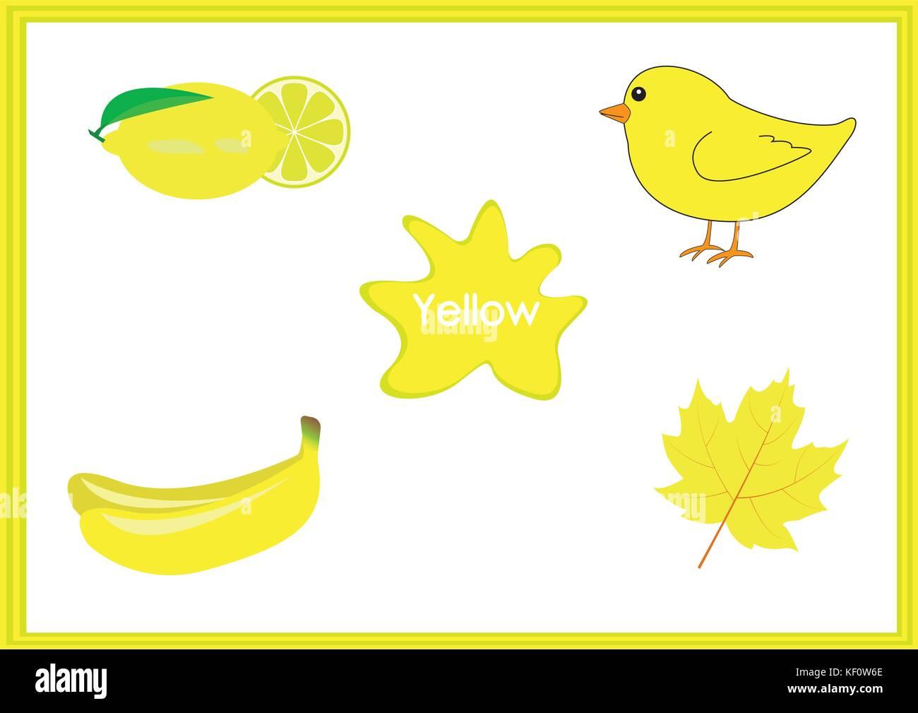 Die Farben lernen, Kinder lernen die Farben, lustigen Arbeitsblatt ...