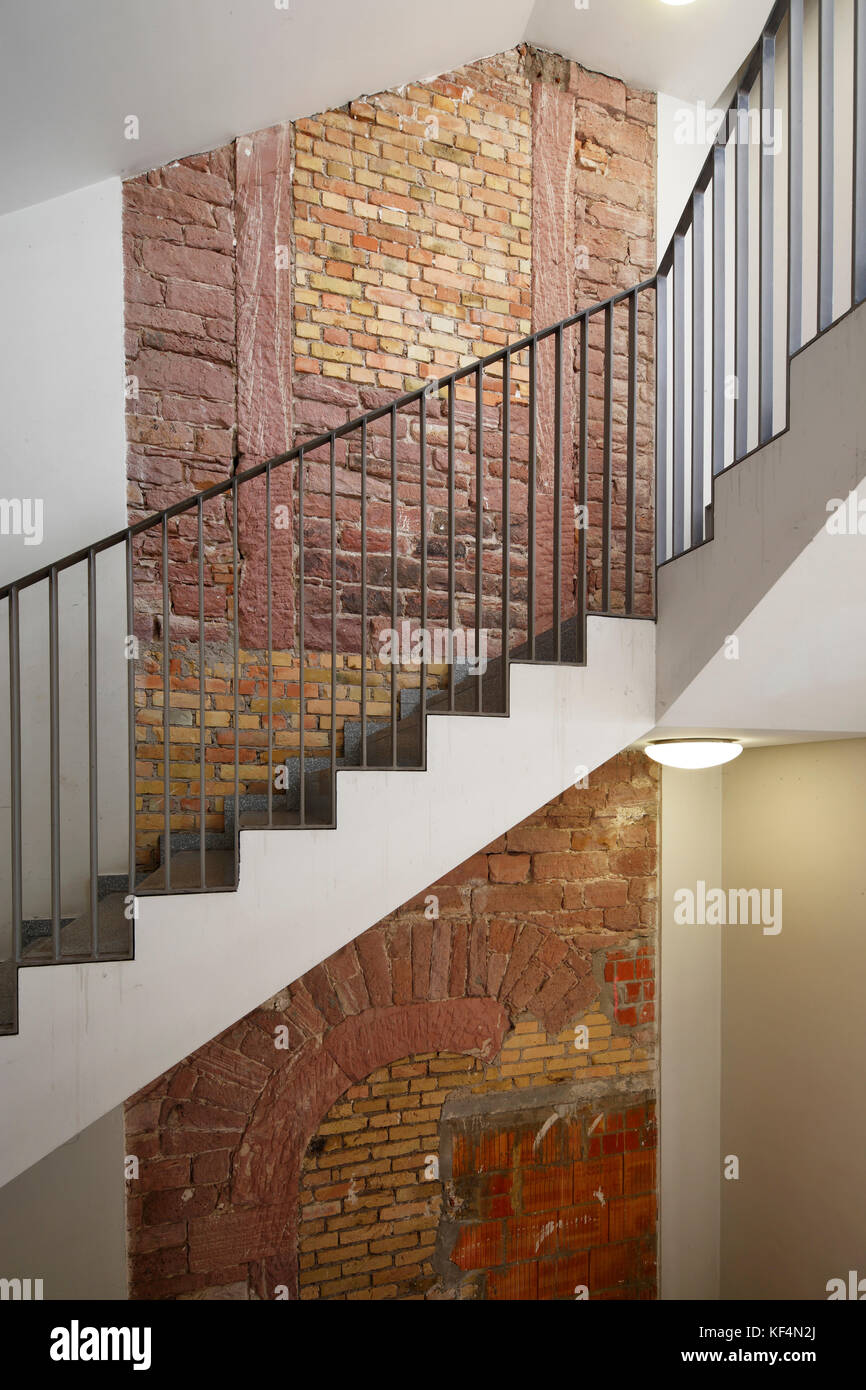staatstheater mainz rheinland pfalz gro es haus treppe treppenhaus treppenaufgang. Black Bedroom Furniture Sets. Home Design Ideas