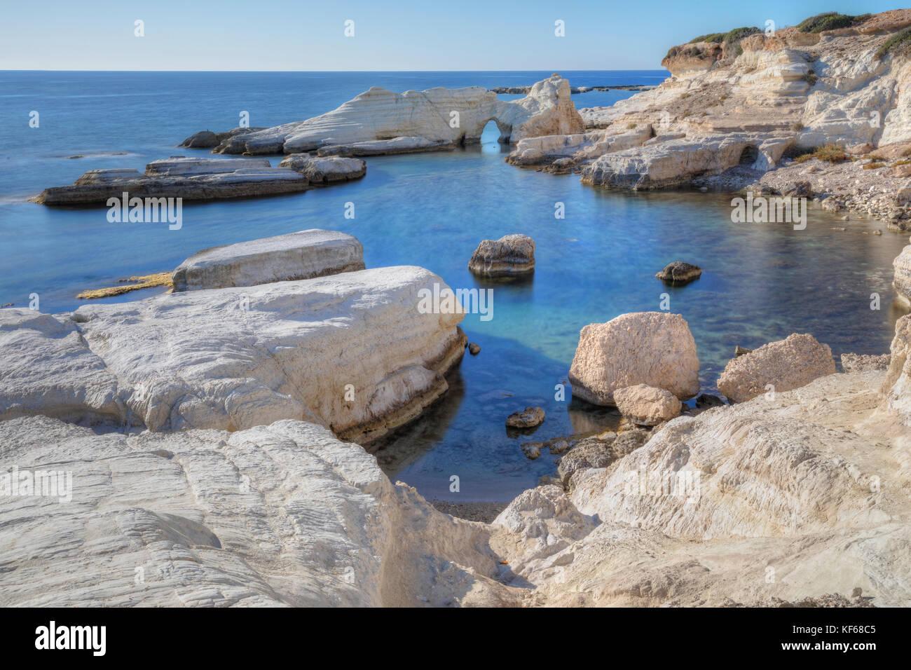 Ayia Thekla, Paphos, Zypern Stockbild