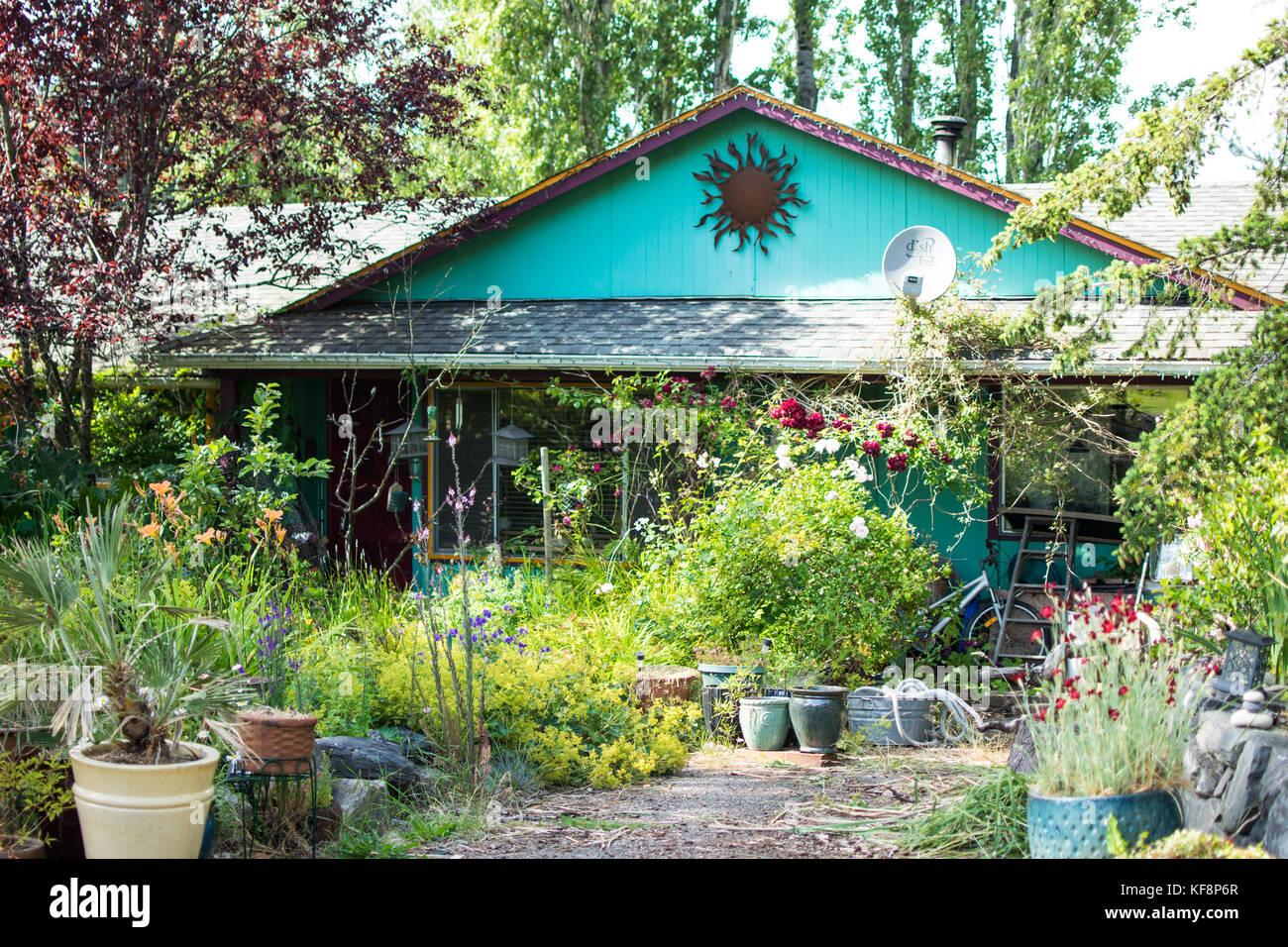 Fairhaven Vorgarten Blumen Ein Fairhaven Home Auf Der Sudseite Von