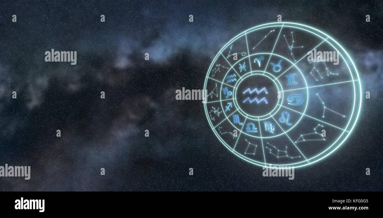 licht symbole der tierkreis und horoskop sternzeichen wassermann stockfoto bild 164464837 alamy. Black Bedroom Furniture Sets. Home Design Ideas