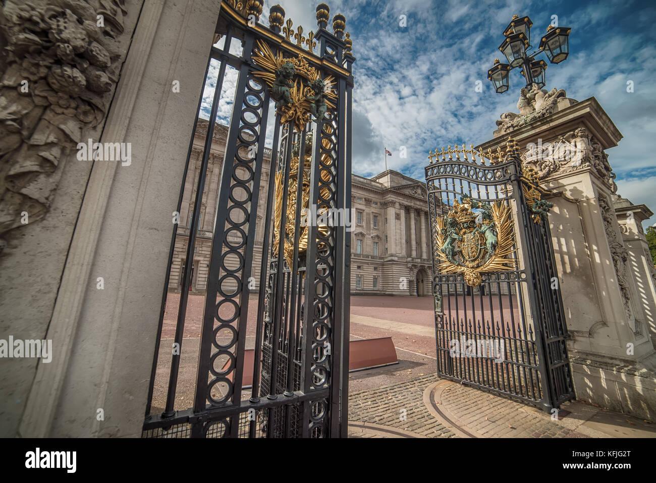 London, Großbritannien - 2 August, 2017: Buckingham Palace Stockbild