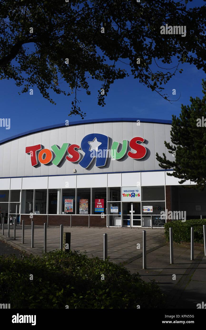 Toys R Us Southampton, Hampshire England super Store. Stockfoto