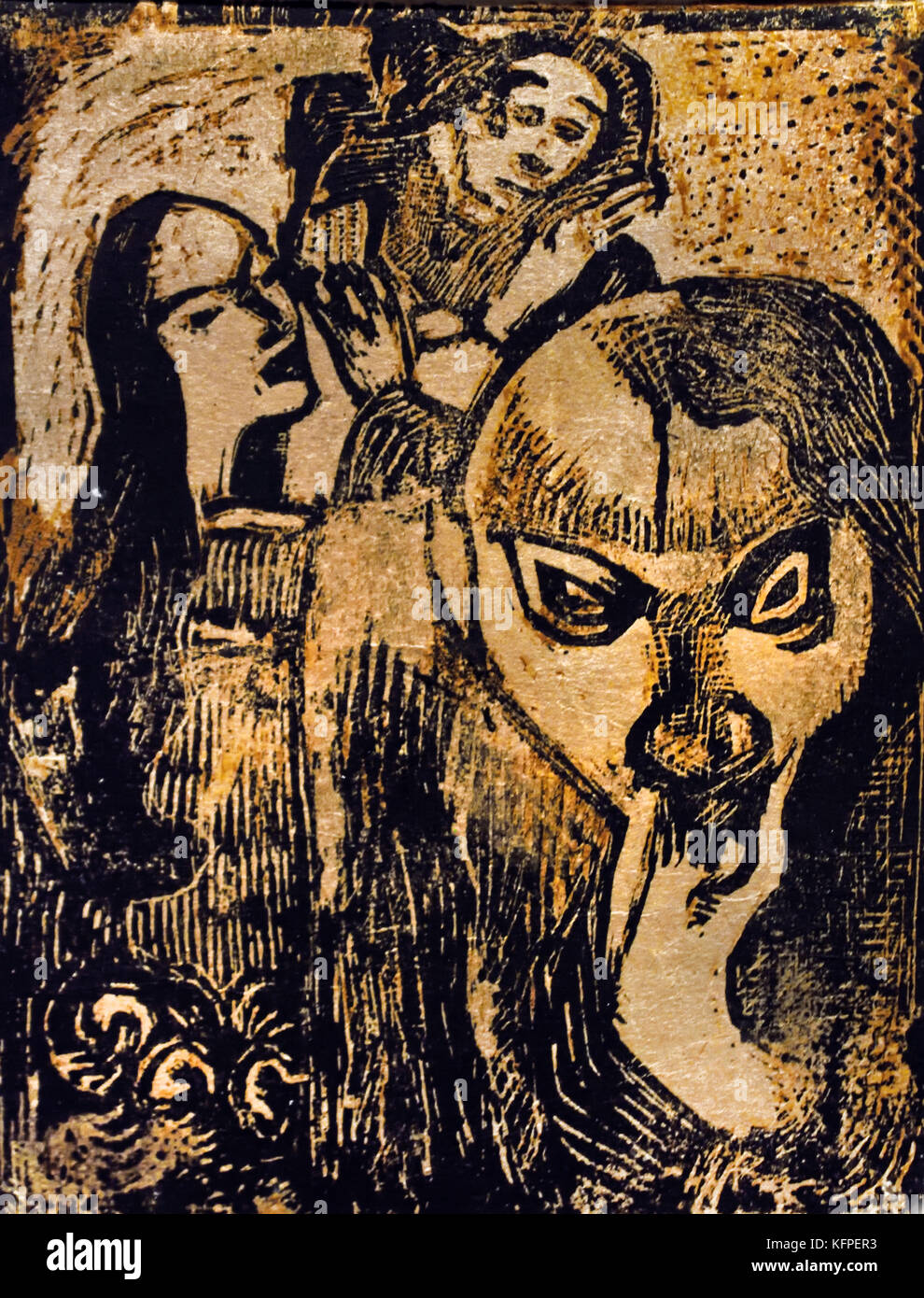 Souvenir de Meyer de Haan - Denken Sie daran, Meijer de Haan 1896 Paul Gauguin - Eugène Henri Paul Gauguin Stockbild