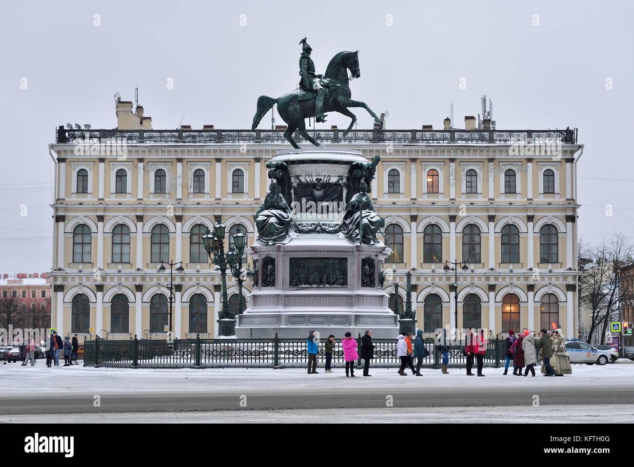 St Petersburg Russia January 12 Stockfotos & St Petersburg Russia ...