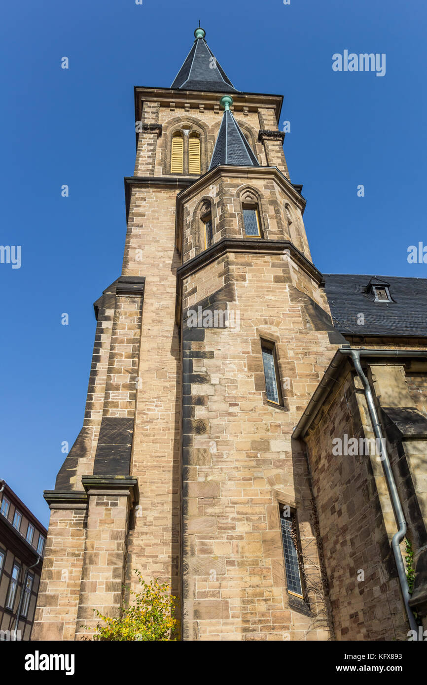 st sylvestri church in wernigerode stockfotos st. Black Bedroom Furniture Sets. Home Design Ideas