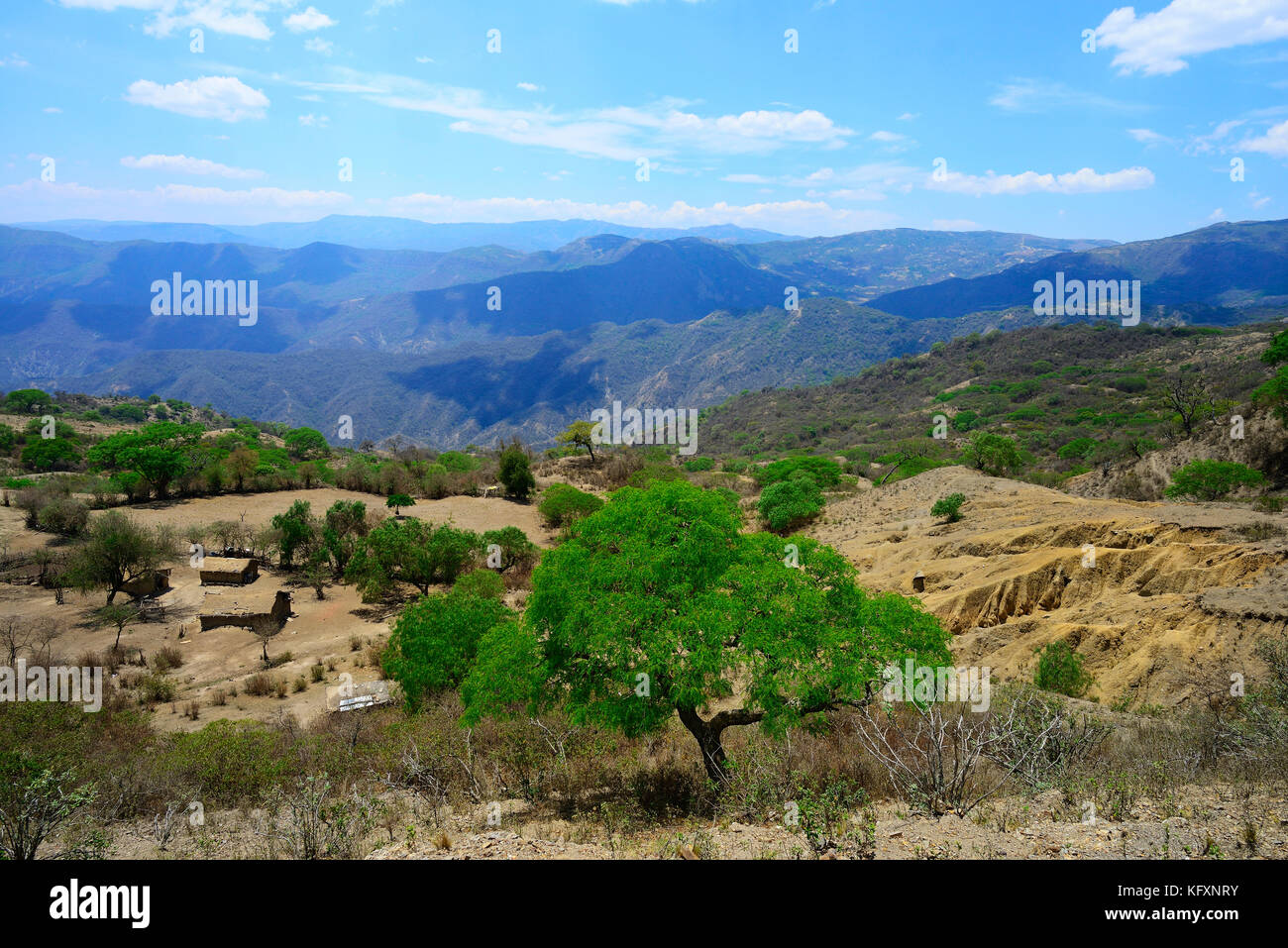 Ruta del che, Cordillera Oriental, in der Nähe von La Higuera, Santa Cruz, Bolivien Stockbild