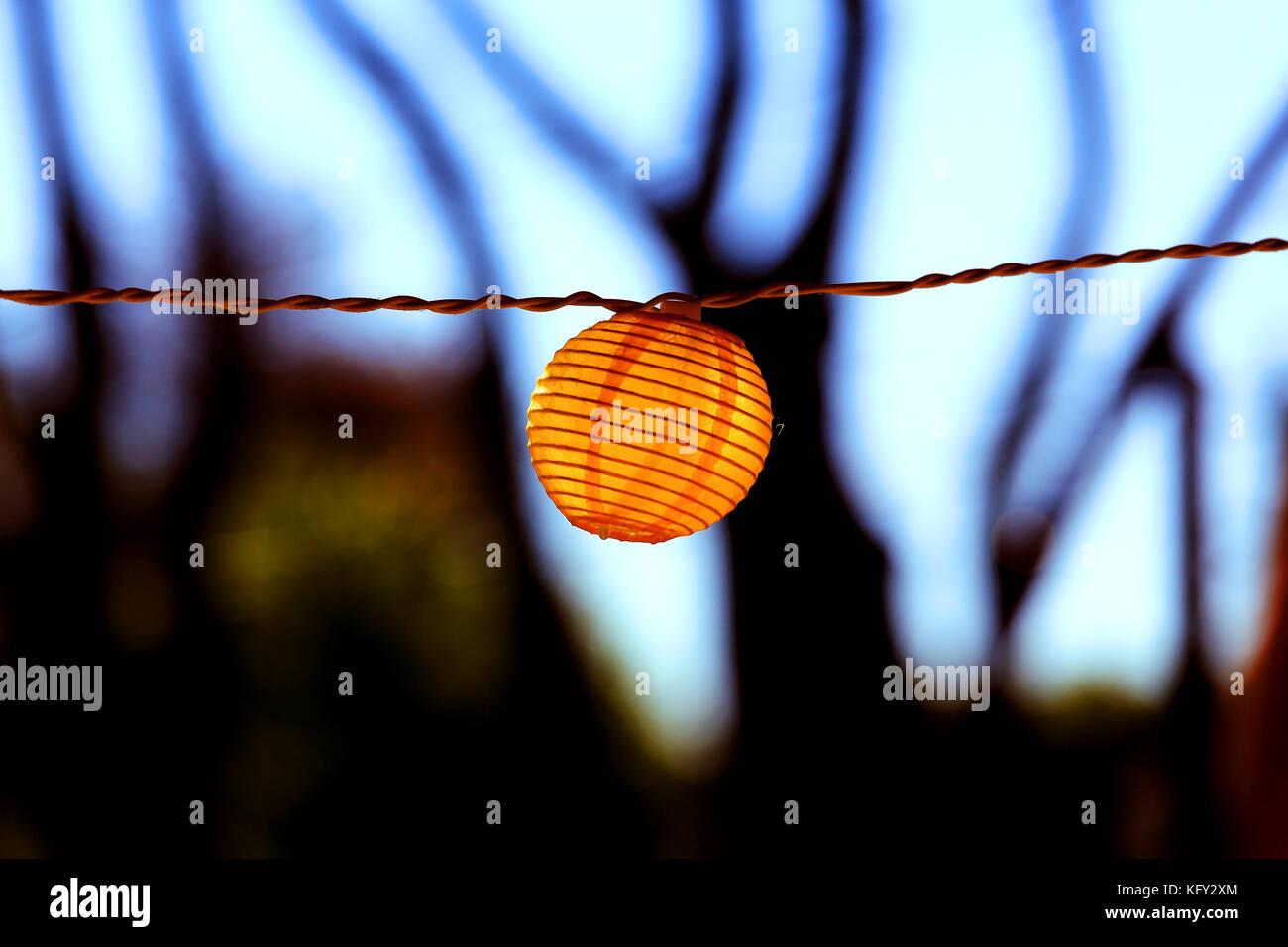 Garten Terrasse Licht Stockfoto Bild 164708172 Alamy