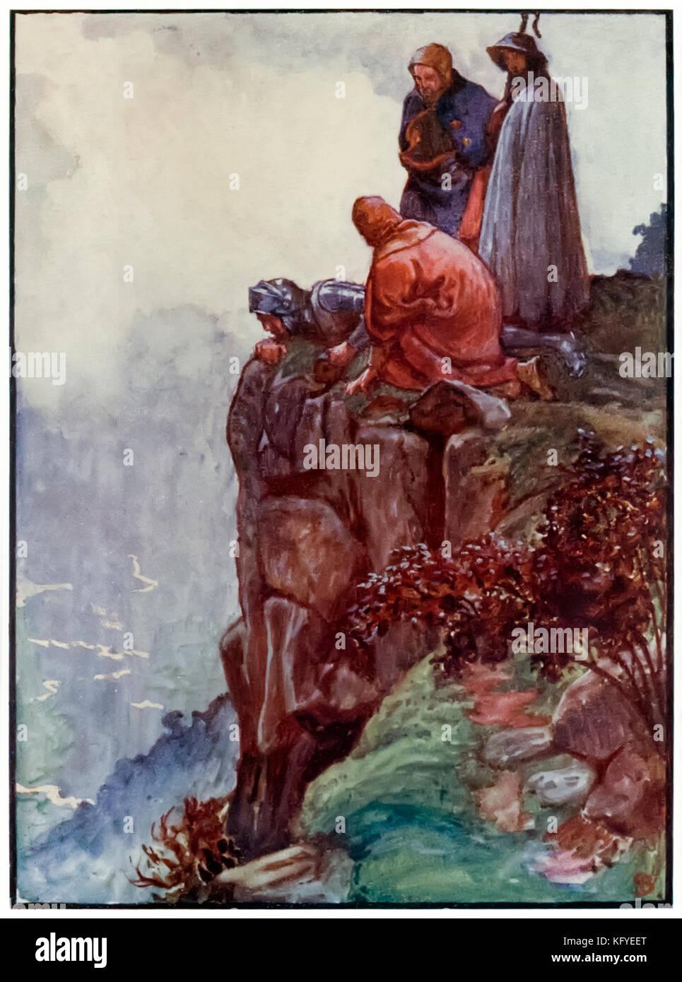 """""""Fehler"""" von """"Der Pilger Fortschritt aus dieser Welt, zu dem, was Kommen"""" von John Bunyan (1628 Stockbild"""