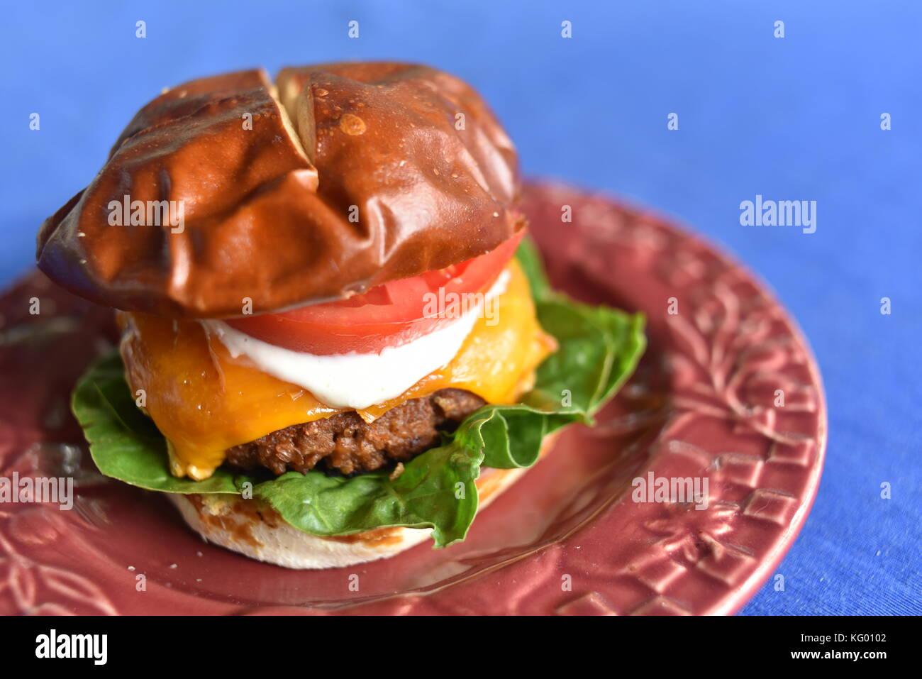 erbsen burger