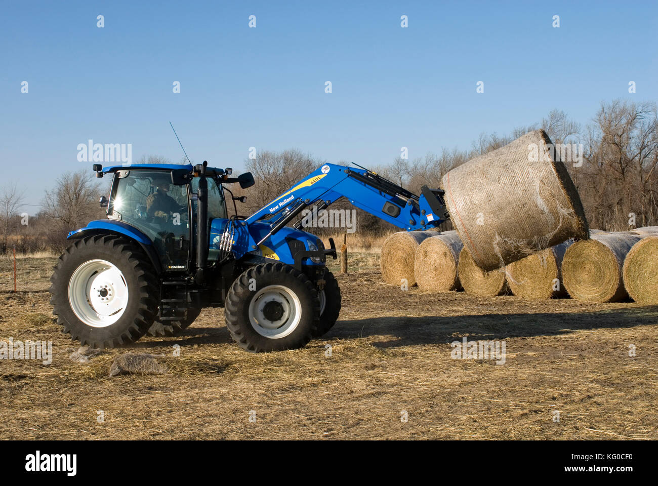 New holland t mit frontlader agricultural tractors
