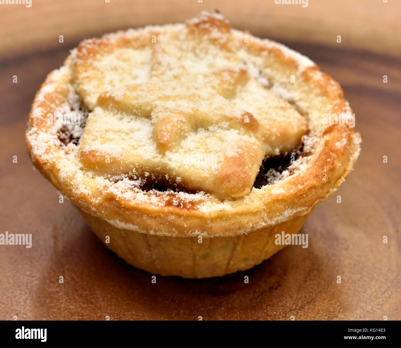 Alle butter Mince Pies Stockfoto