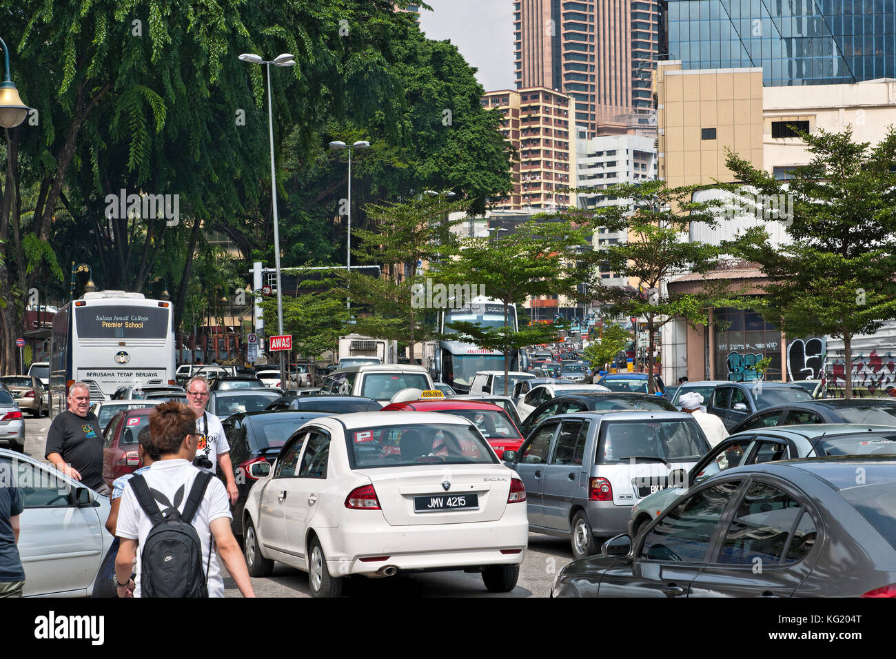 Kuala Lumpur, Malaysia: Jalan Pudu: STAU Stockfoto