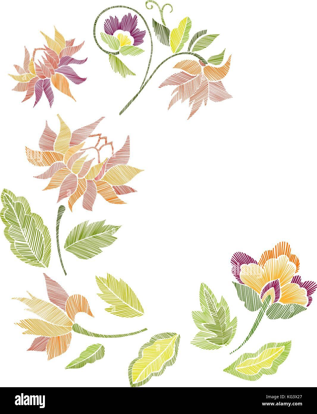 Embroidery Design Stockfotos & Embroidery Design Bilder - Alamy