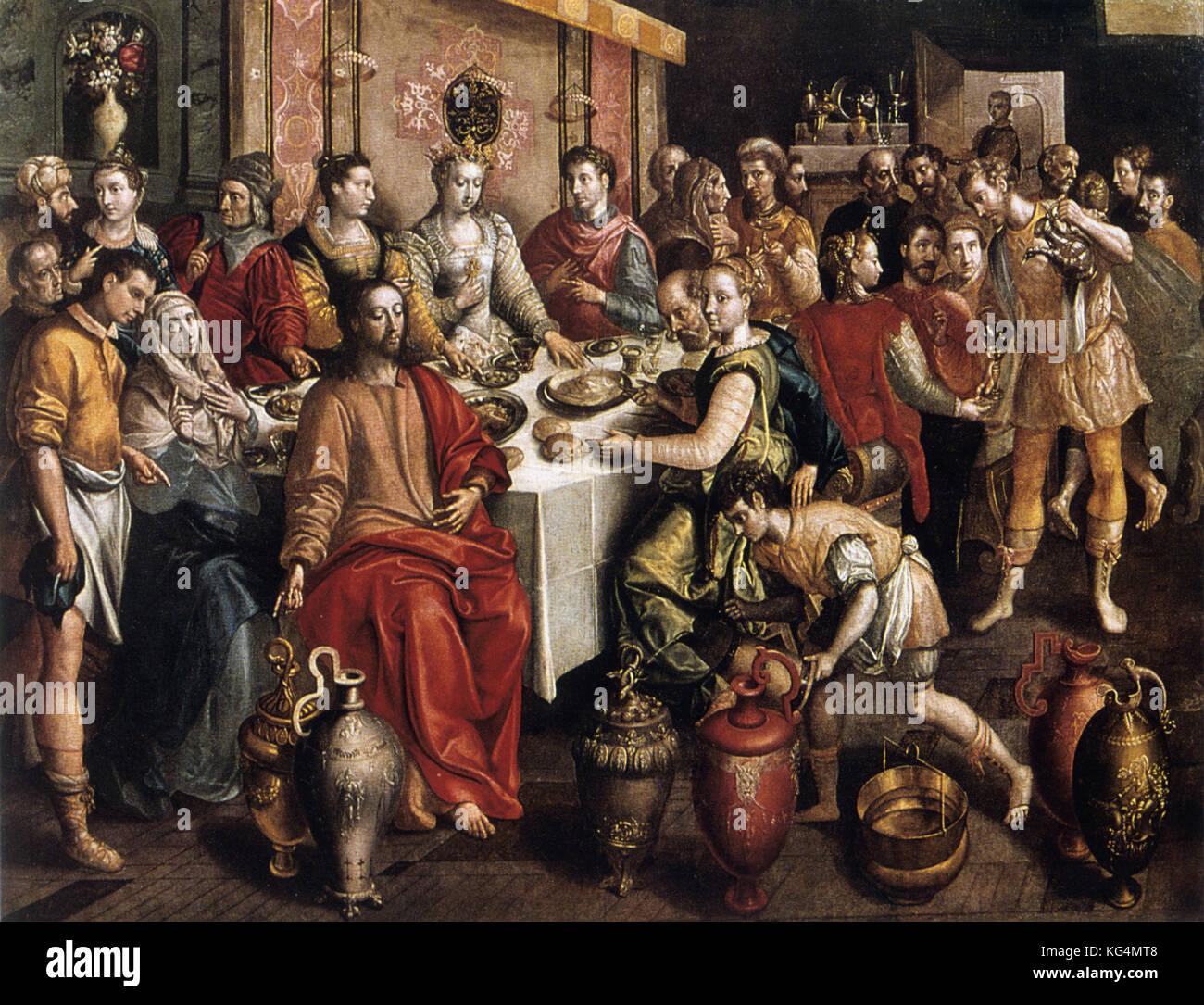 Maarten De Vos Die Hochzeit Von Kana Stockfoto Bild 164831976