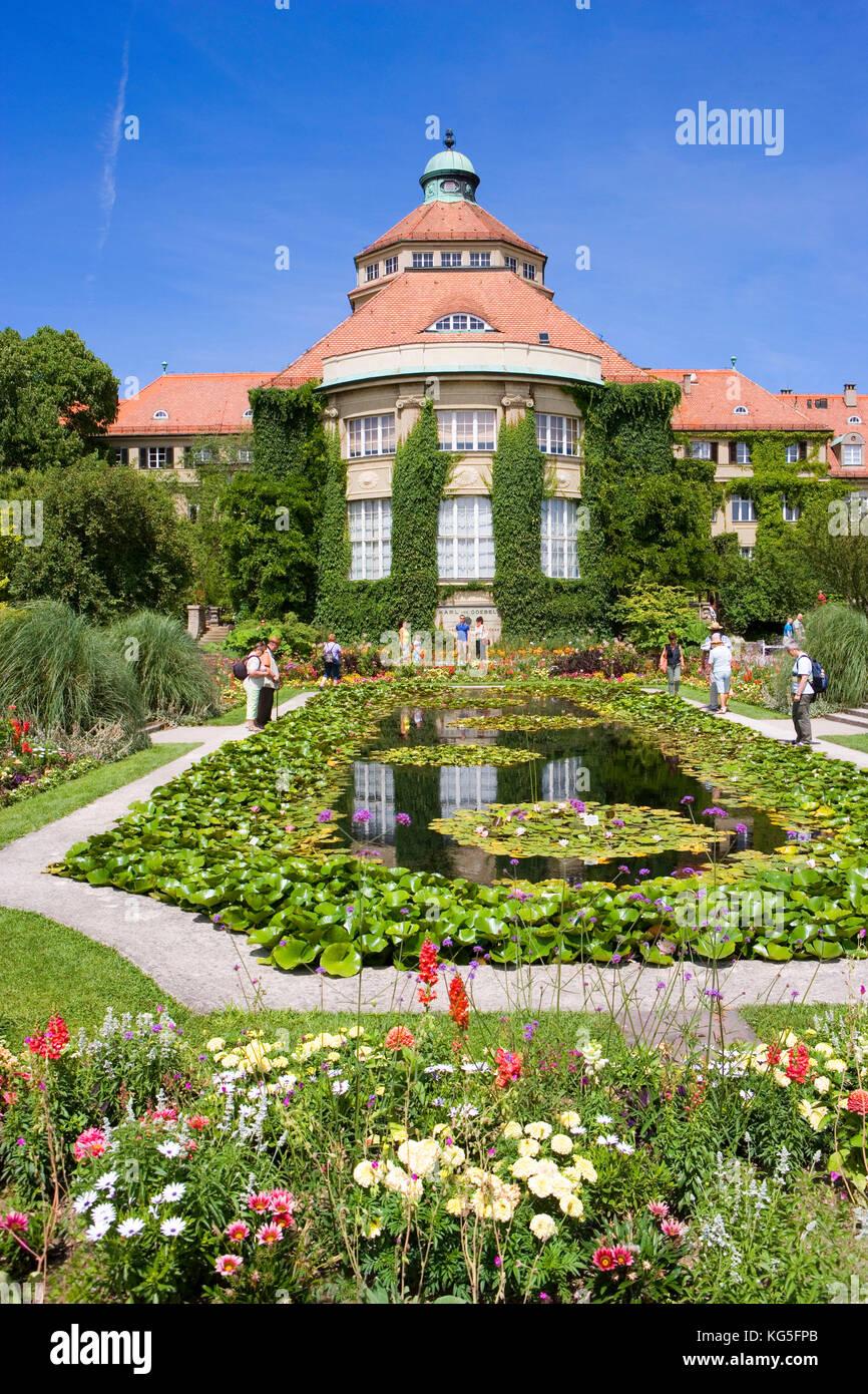 Botanischer Garten München Nymphenburg Botanischer Garten Stockfotos