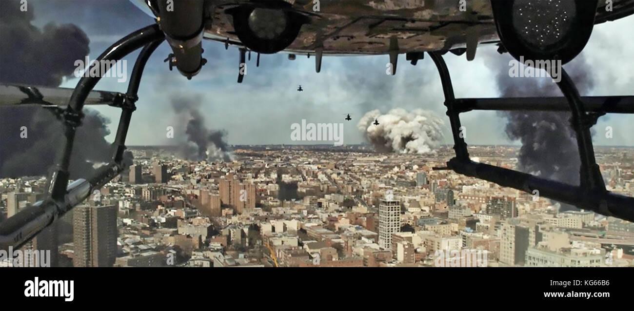 Bushwick 2017 bullet Bilder Film Stockbild