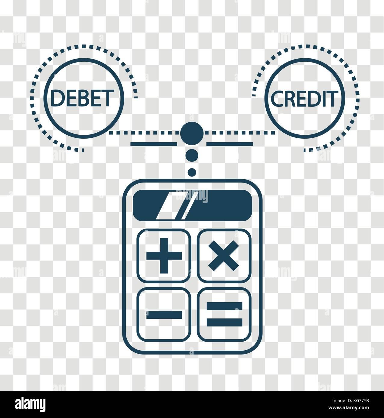 Konzept Der Berechnung Und Lastschriften Bilanz Rechnungswesen In