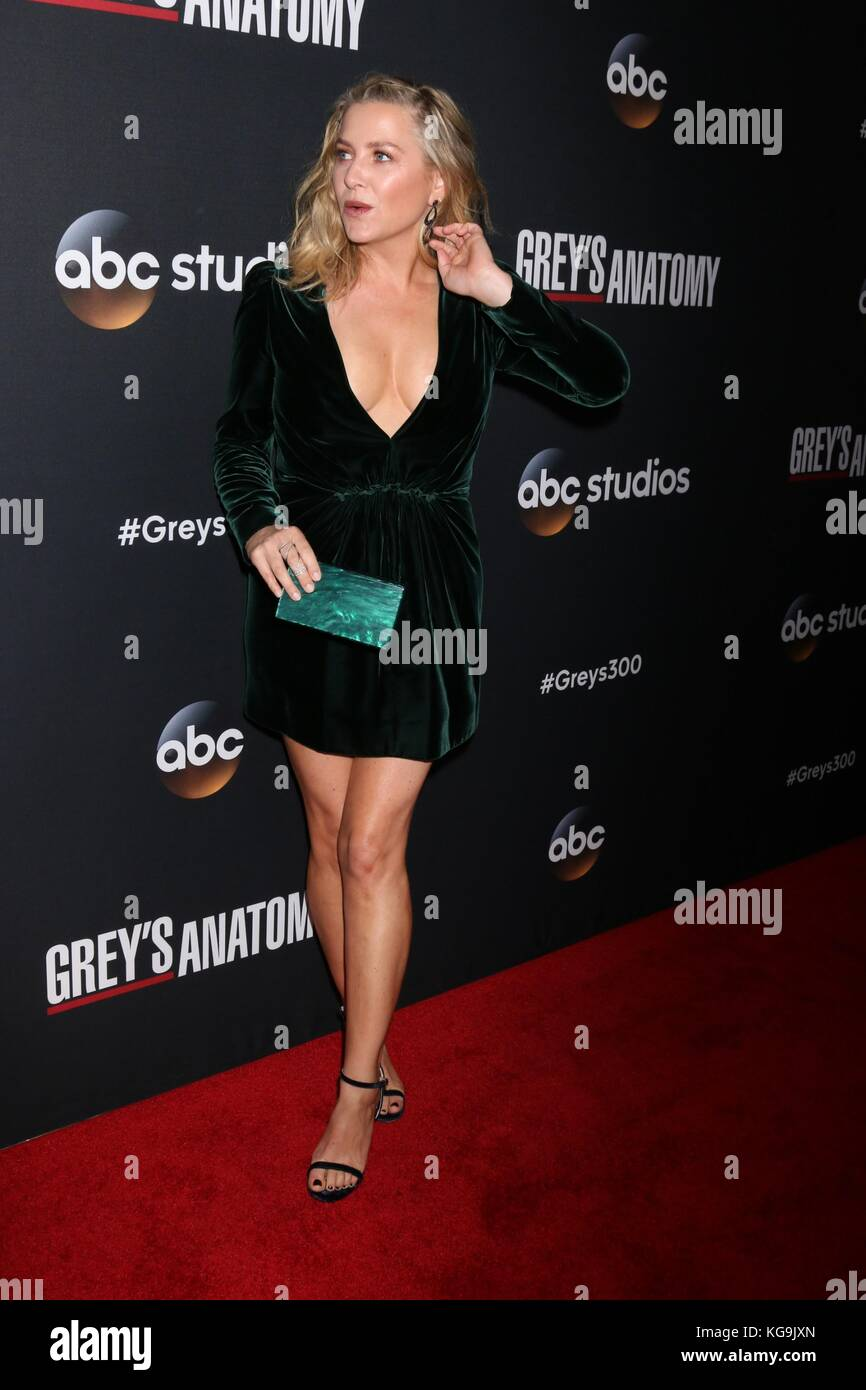 Los Angeles, Ca, USA. 4 Nov, 2017. Jessica capshaw in der ...