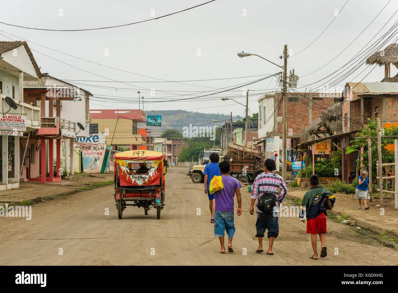 Südamerika Ecuador Puerto Lopez Stockfoto