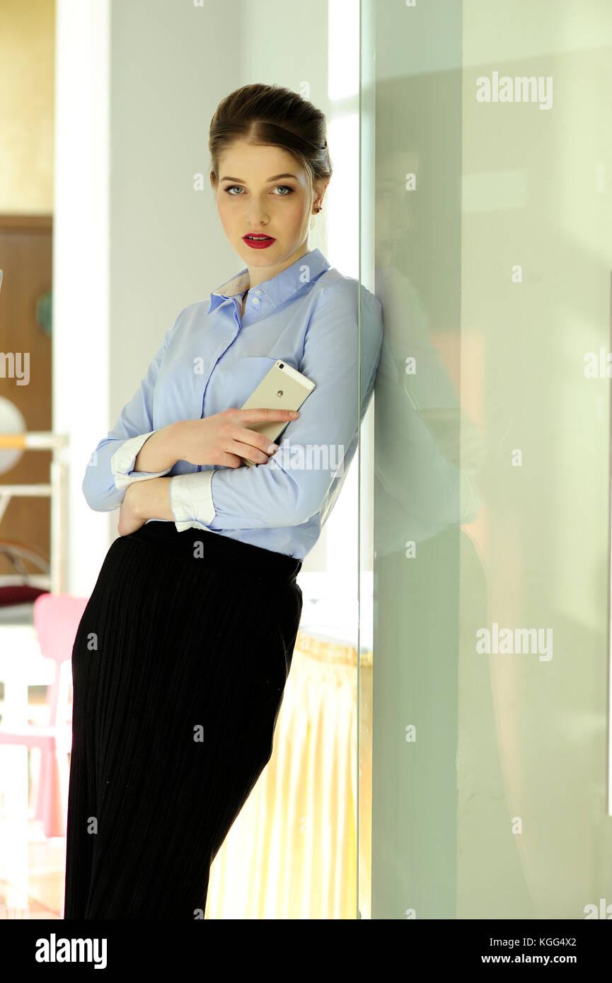 Buro Frauen Schonheit Jung Kompetent Professionell Dress Code