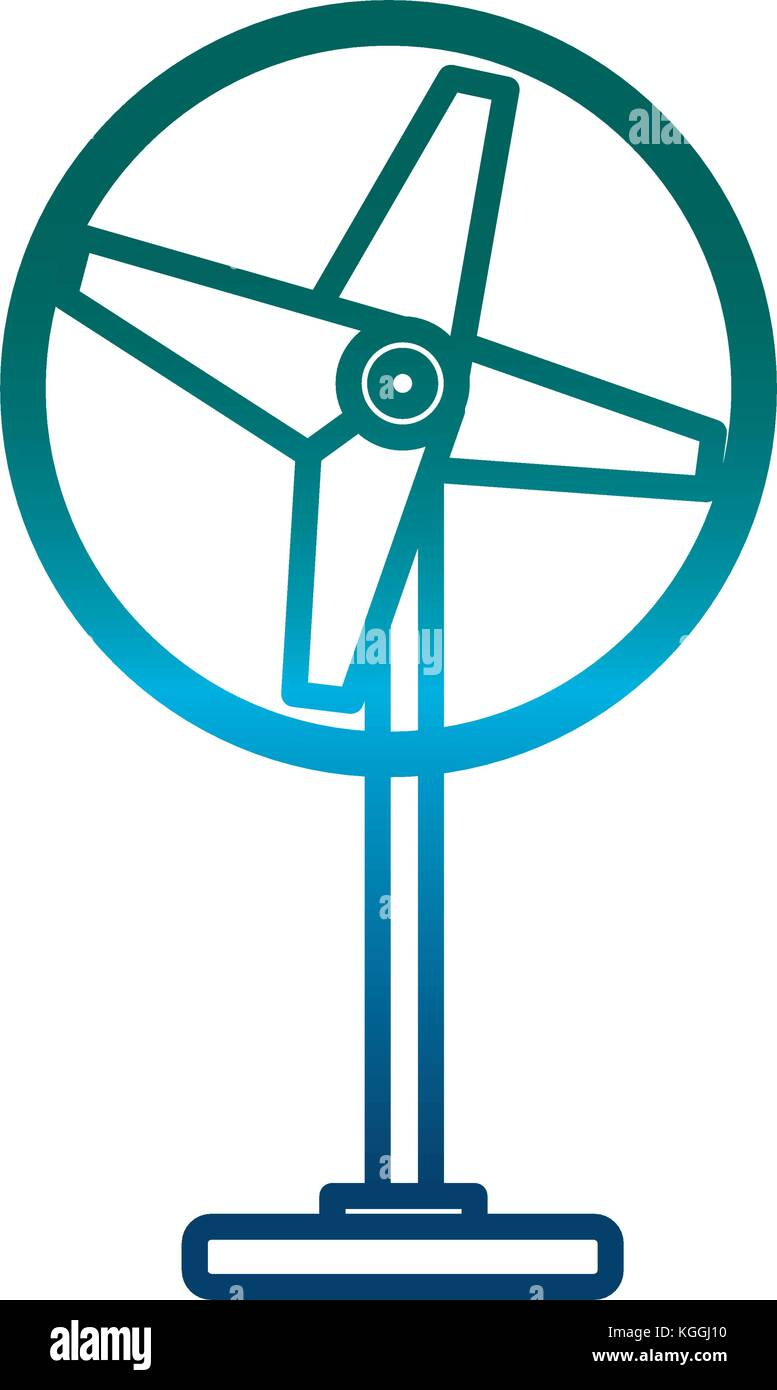 Ventilator Symbol imag Stockbild