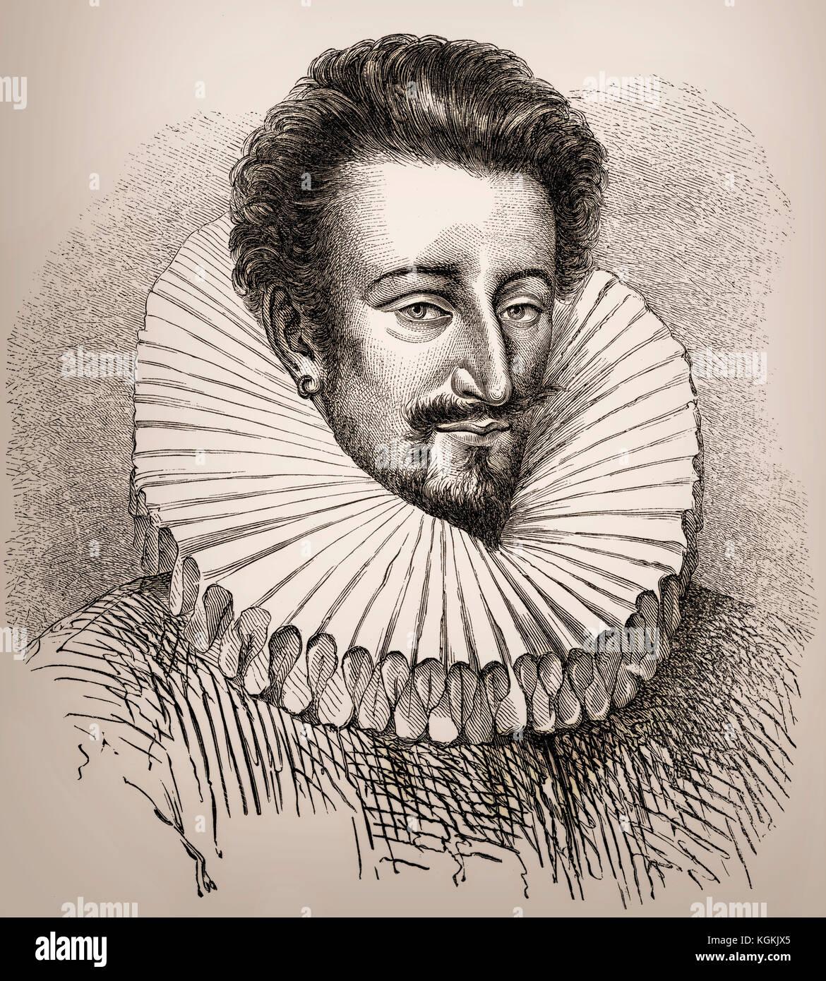 Pier Luigi Farnese, 1503-1547, der erste Herzog von Parma, Piacenza und Castro Stockbild