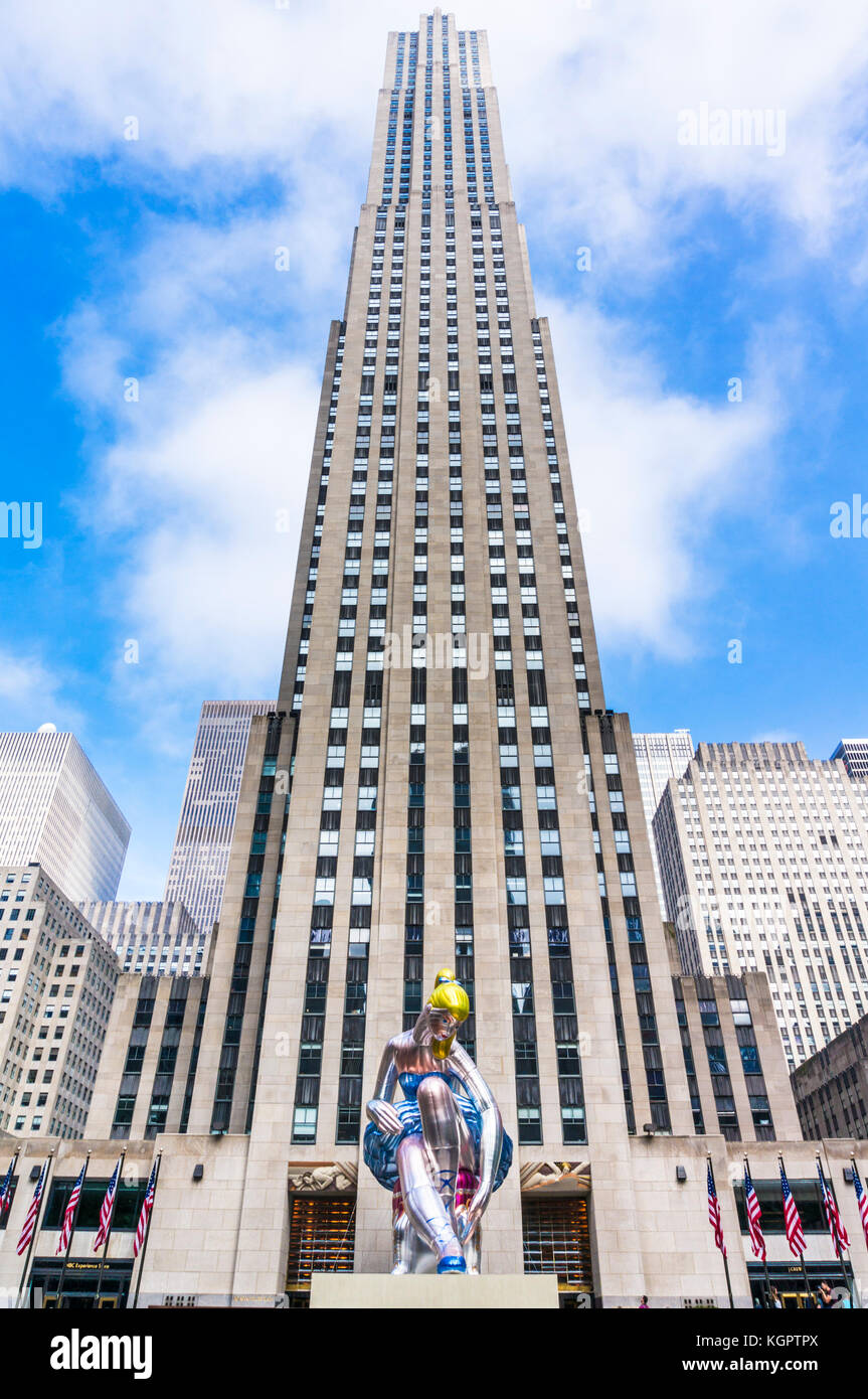 New York USA New York Rockefeller Center Rockefeller Plaza