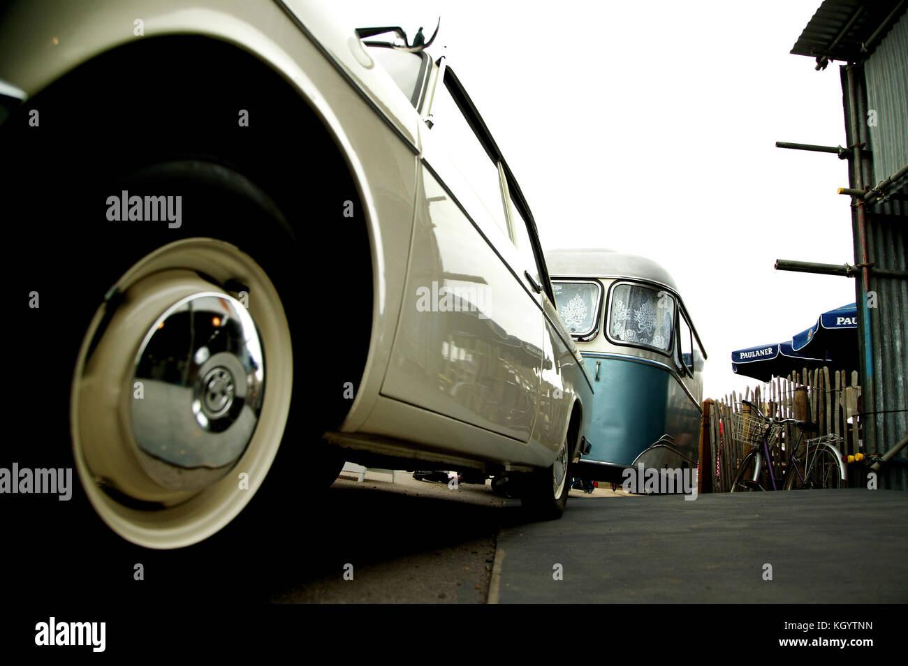 Reportage Farbe sozialen Dokument in Goodwood Festival der Geschwindigkeit 2012 Stockbild