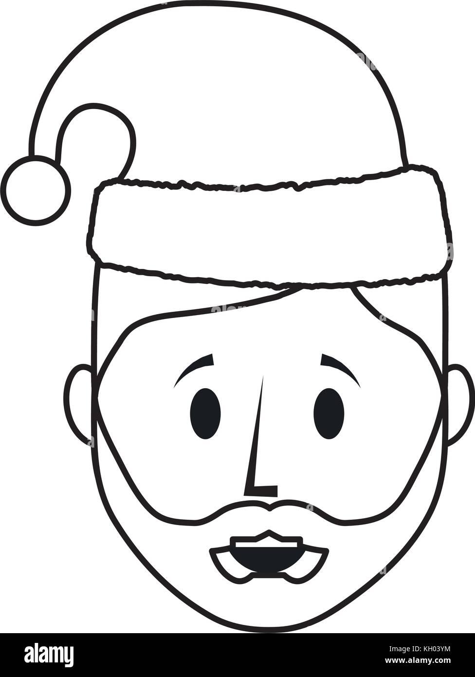 Niedlich Santa Gesicht Vorlage Bilder - Entry Level Resume Vorlagen ...