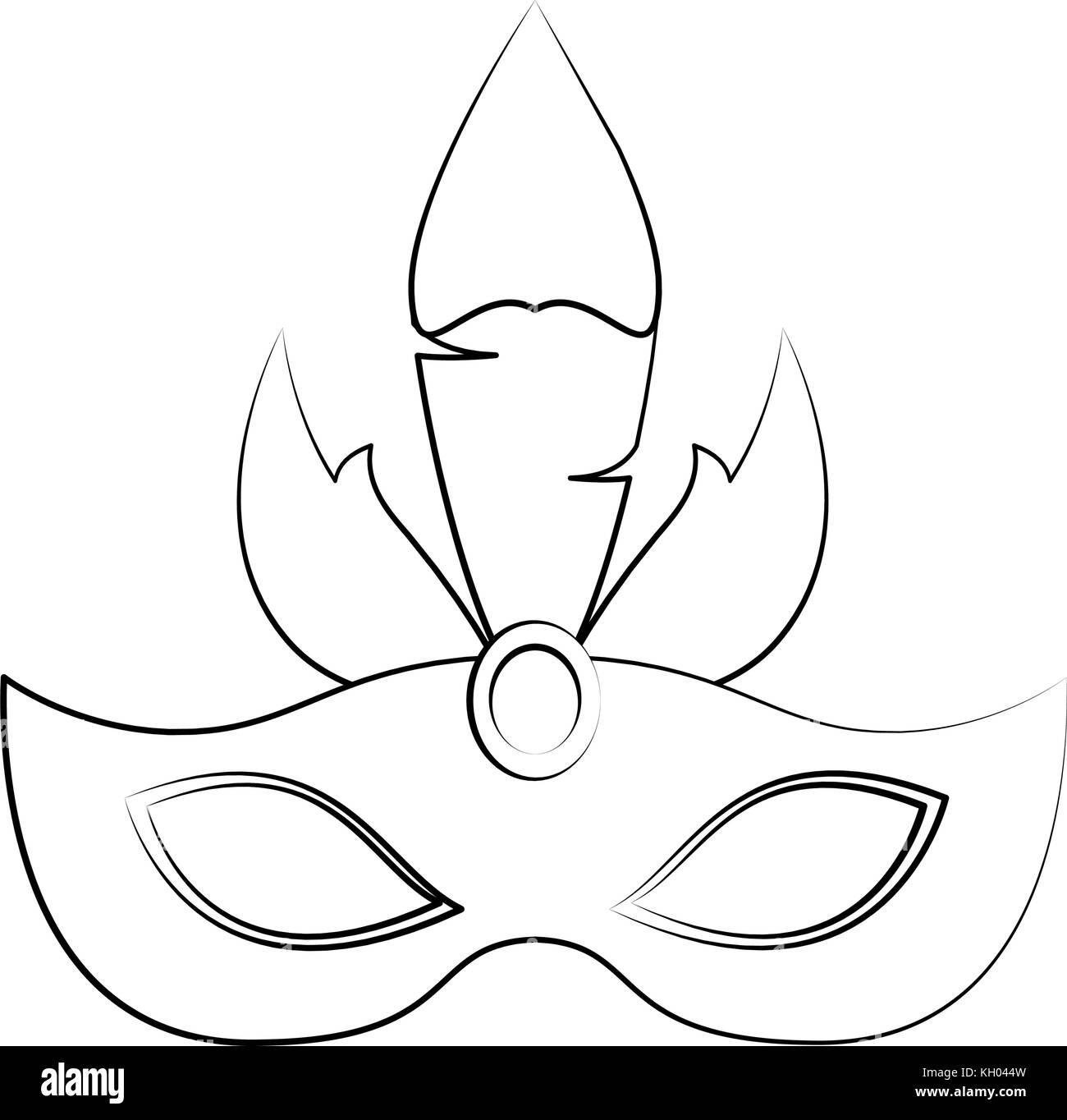 Großartig Karneval Maske Vorlage Fotos - Entry Level Resume Vorlagen ...