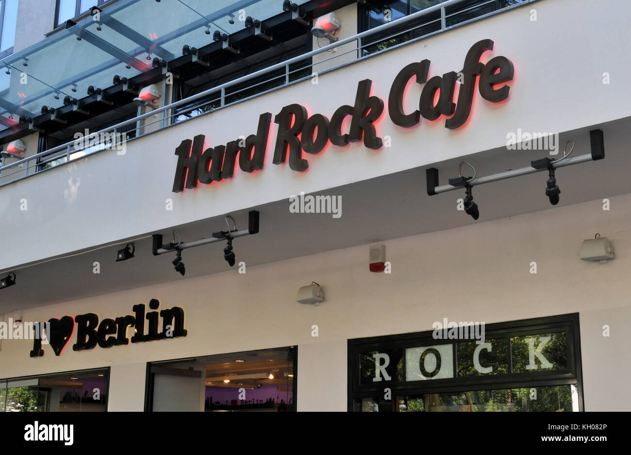 Hard Rock Café Berlin Deutschland Stockfoto Bild 165348814 Alamy