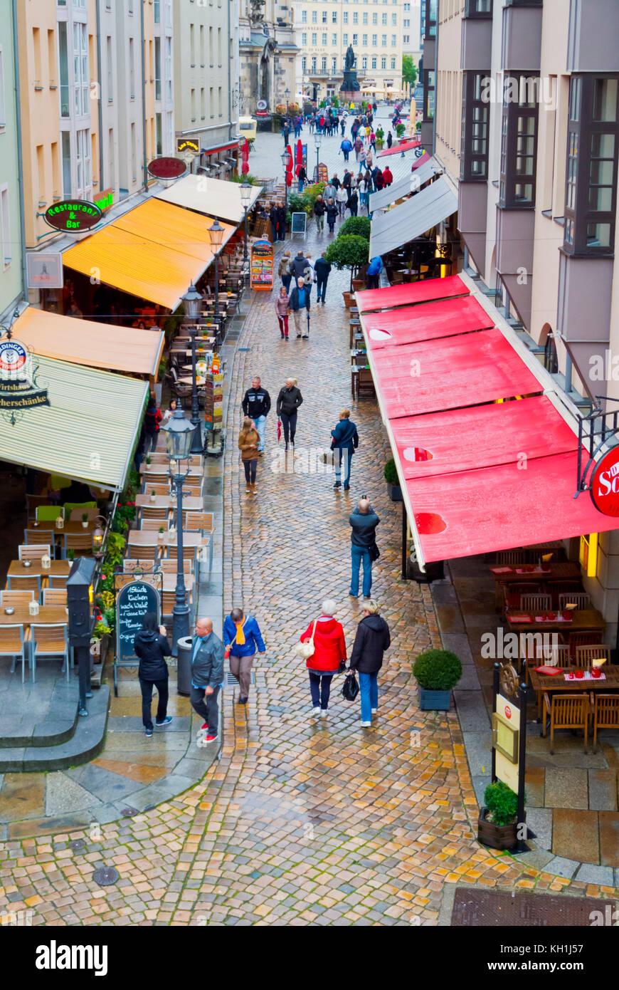 Muenzgasse Altstadt Altstadt Dresden Sachsen Deutschland