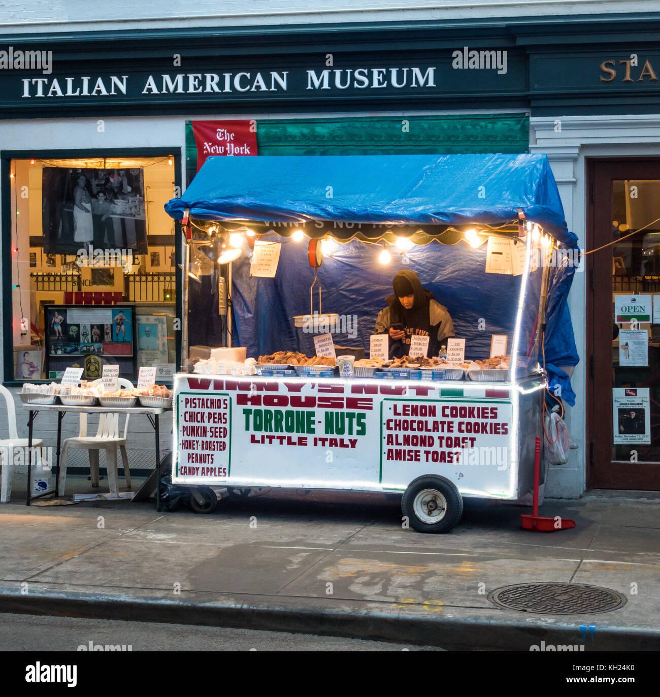 Vinny\'s Haus der Torrone, ein walzgerüst Verkauf von italienischen ...