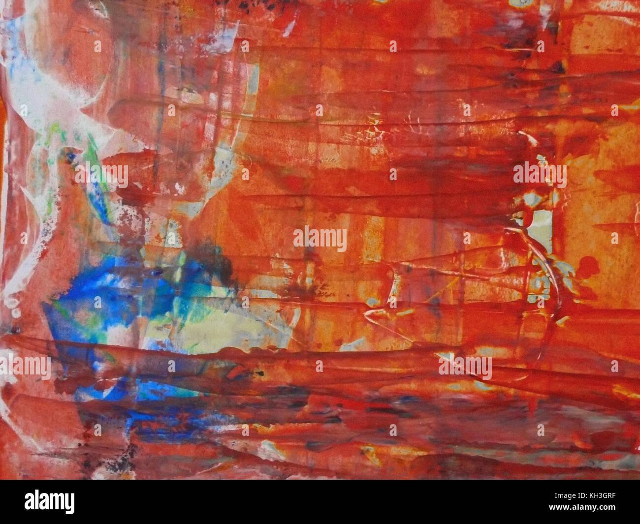 Malerei mit Acryl auf Leinwand abstrakte Kunst Hintergrund für ...