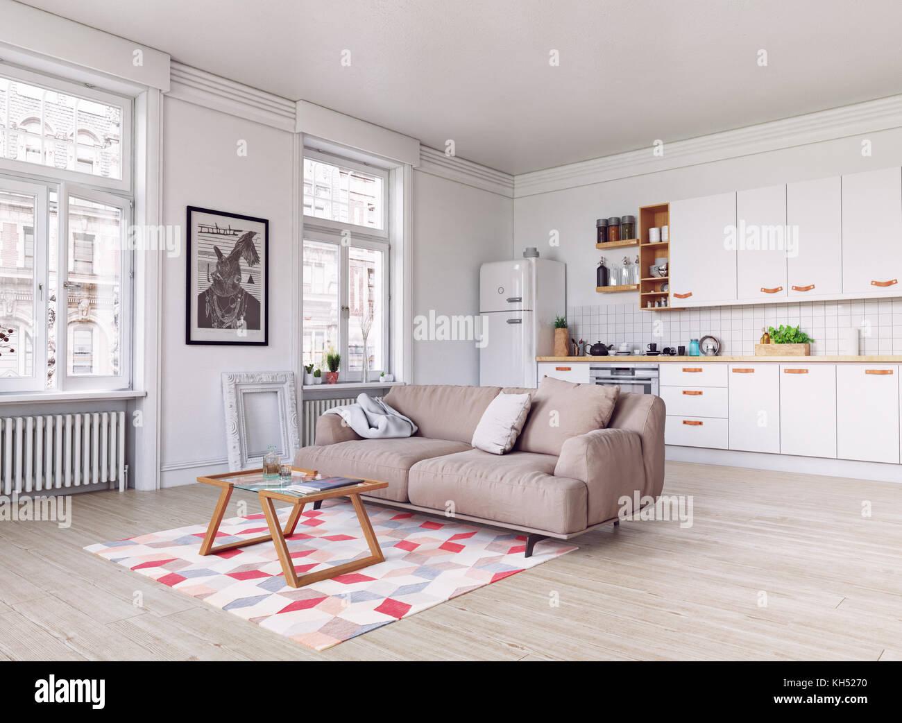 https://c8.alamy.com/compde/kh5270/moderne-kuche-interieur-skandinavisches-design-3d-rendering-konzept-kh5270.jpg