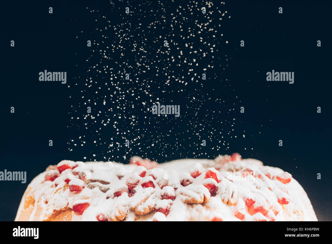 Weihnachtskuchen Stockbild