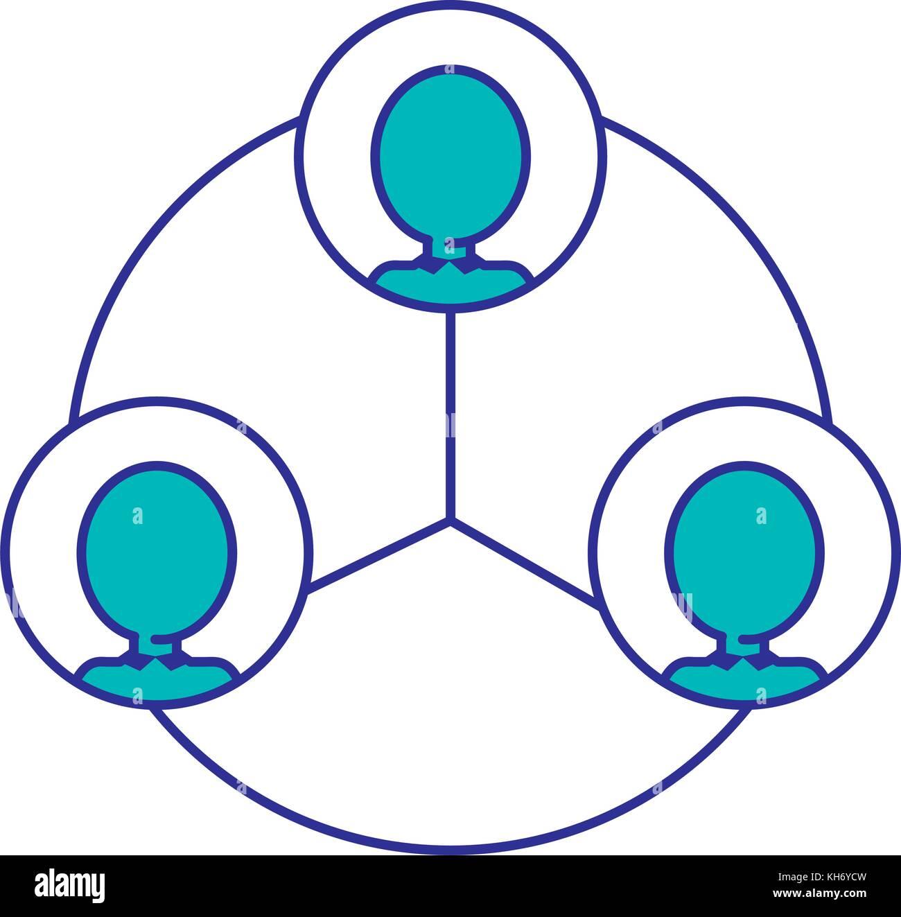 Isolierte Piktogramm design Stockbild