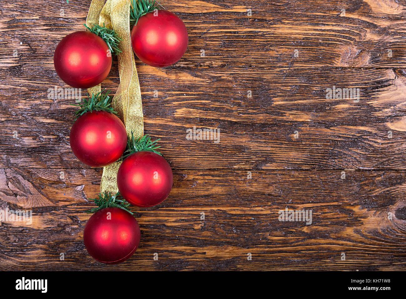 Weihnachten oder Neujahr Karte mit Weihnachten Spielzeug, Platz für ...