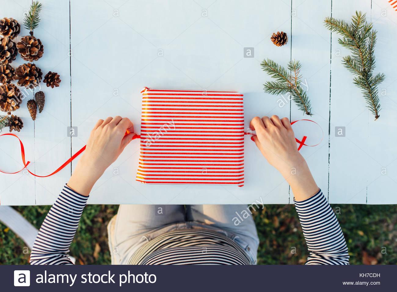 Geschenk fur frau verpacken