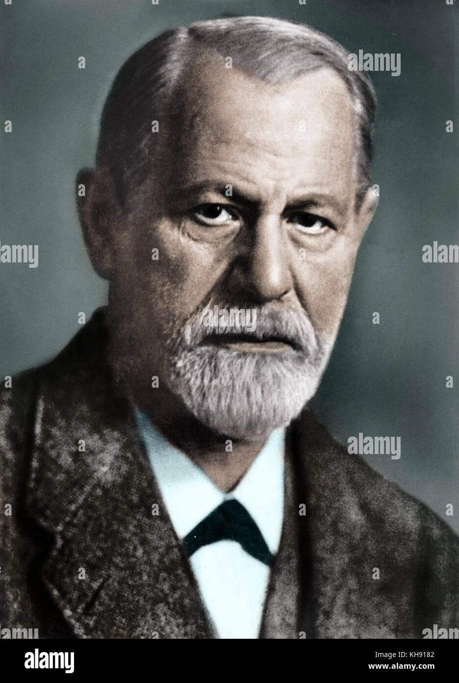 0e4b2266f Sigmund Freud, der Begründer der Psychoanalyse. Geboren in Mähren ...