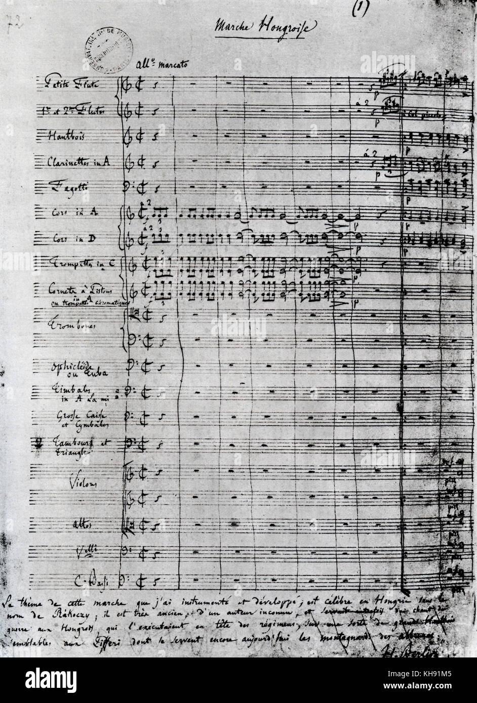 La Damnation De Faust Von Hector Berlioz Handsignierte