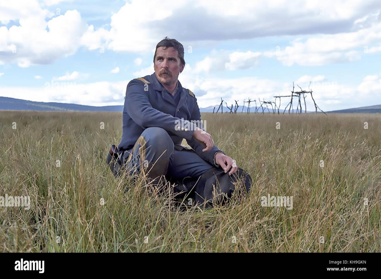 Feinde 2017 Entertainment Studios Film mit Christian Bale Stockbild