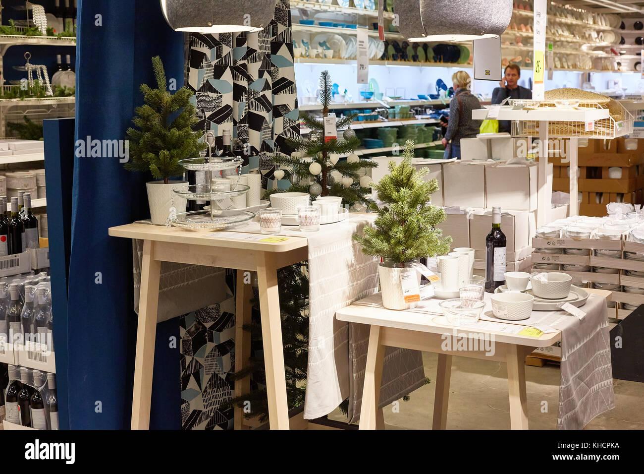 Ikea Weihnachten.Samara Russland November 15 2017 Weihnachten Dekoration Im Ikea