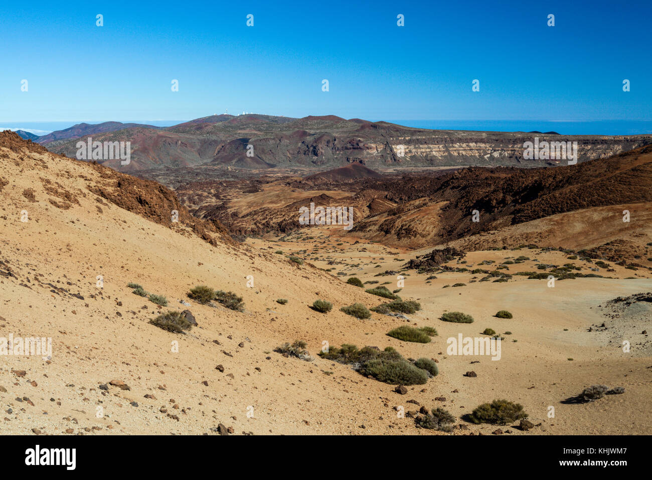 Im Nordosten von Teneriffa aus Montana Blanca, Teneriffa, Spanien Stockbild