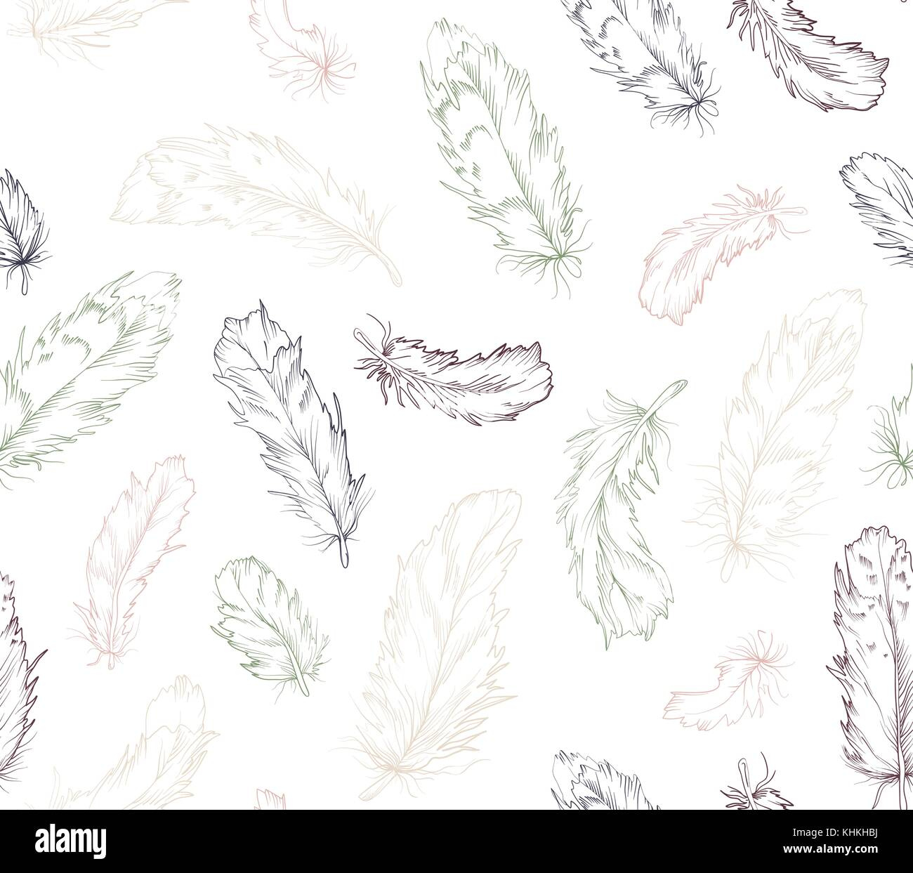 Grün, Marine, Hellrosa Farbe Lineare Pen Textur In Boho Style Für Strenge  Innere Tapeten, Textilien T Shirt Design Pa